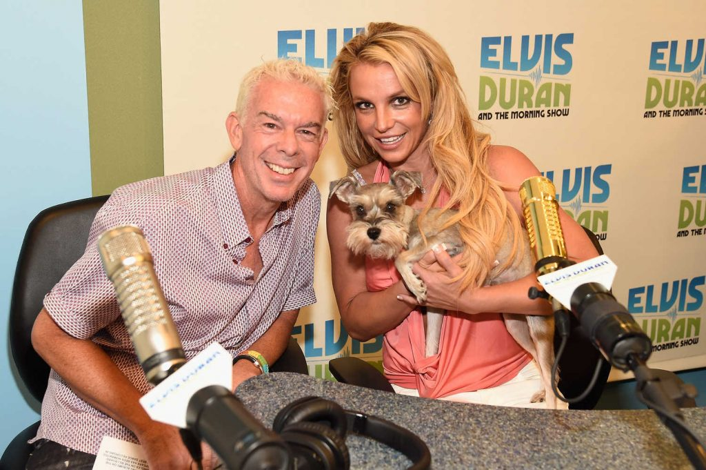 Britney Spears Visits The Elvis Duran Z100 Morning Show in New York City-4