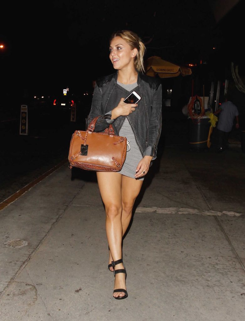 Cassie Scerbo Leaves Bootsy Bellows Nightclub in Los Angeles-1
