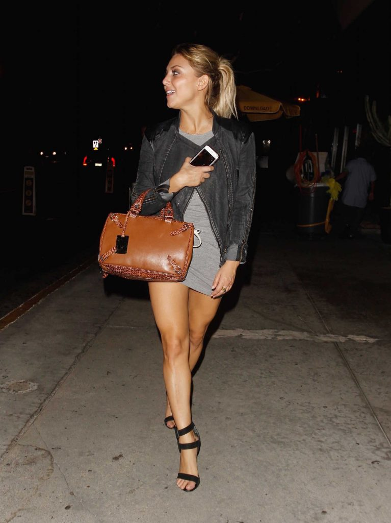 Cassie Scerbo Leaves Bootsy Bellows Nightclub in Los Angeles-2