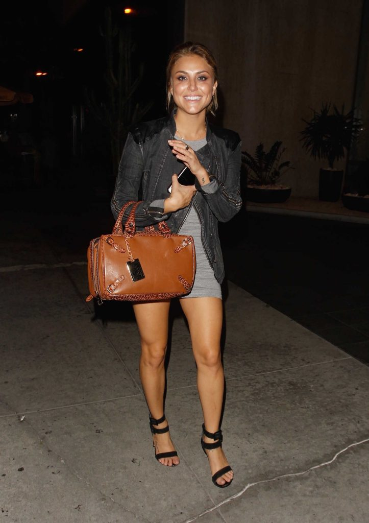 Cassie Scerbo Leaves Bootsy Bellows Nightclub in Los Angeles-3