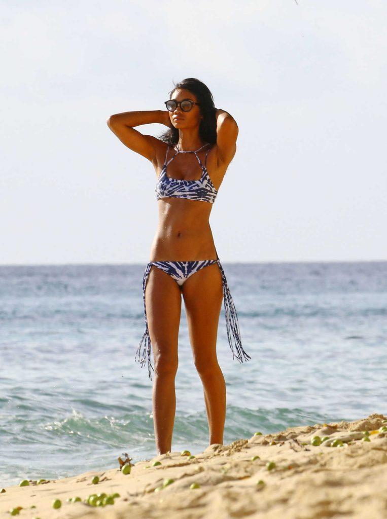 Chanel Iman in Bikini in Barbados-1