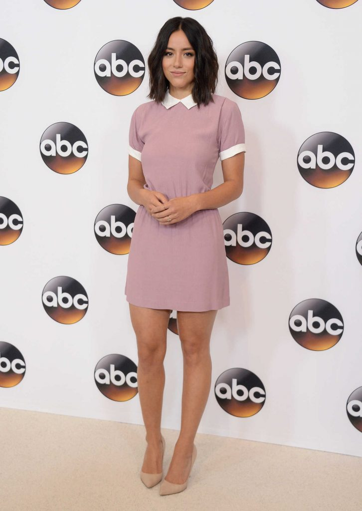Chloe Bennet at Disney ABC Television Hosts 2016 TCA Summer Press Tour in Beverly Hills-3