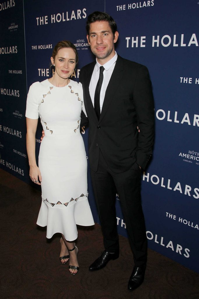 Emily Blunt at the Special Screening for Sony Pictures The Hollars in New York-1