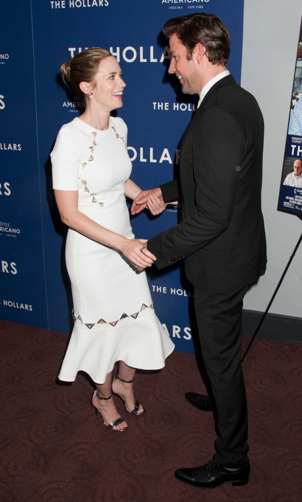 Emily Blunt at the Special Screening for Sony Pictures The Hollars in New York-4