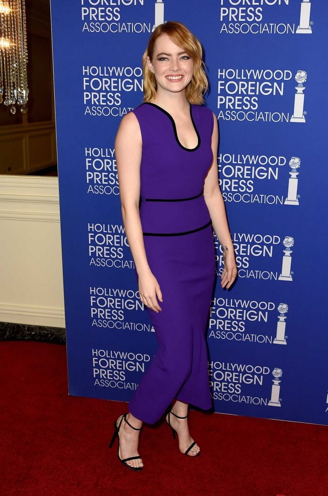Emma Stone at Hollywood Foreign Press Association's Grants Banquet in Hollywood-2