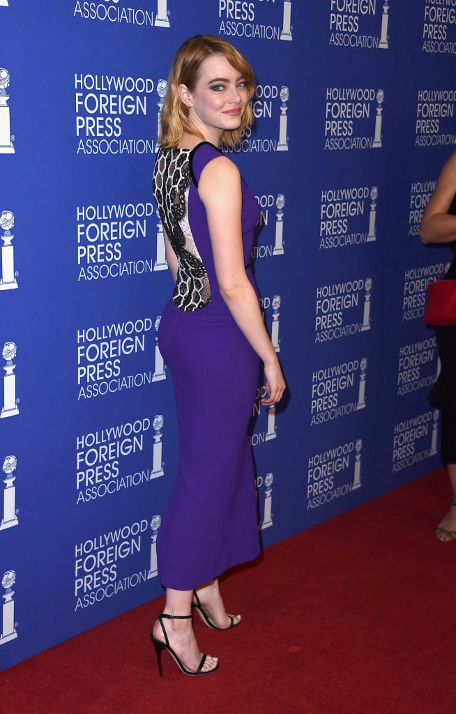 Emma Stone at Hollywood Foreign Press Association's Grants Banquet in Hollywood-3