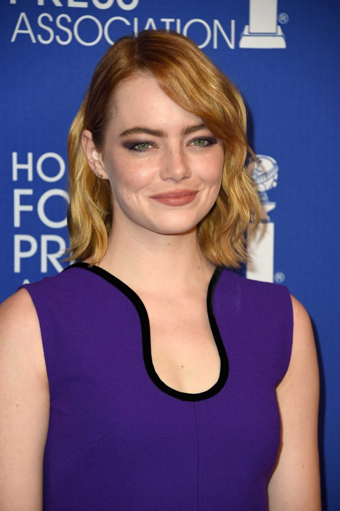 Emma Stone at Hollywood Foreign Press Association's Grants Banquet in Hollywood-5