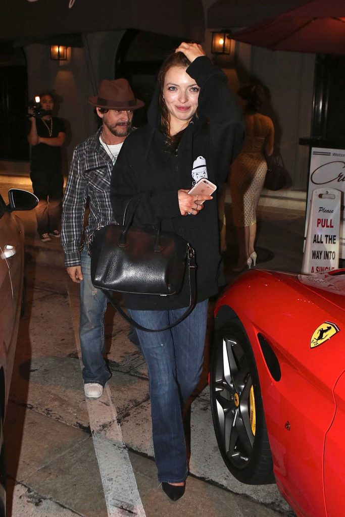Francesca Eastwood Arrives to Craig's Restaurant in West Hollywood-1