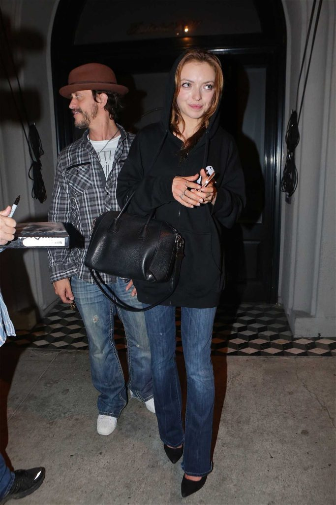 Francesca Eastwood Arrives to Craig's Restaurant in West Hollywood-4