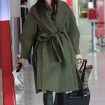 Jessica Gomes Was Seen at the Airport in Perth, Western Australia