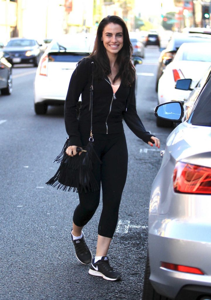 Jessica Lowndes Was Seen at Kreation in Beverly Hills-3