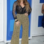 Joanna Jojo Levesque at 2016 MTV Video Music Awards at Madison Square Garden in New York