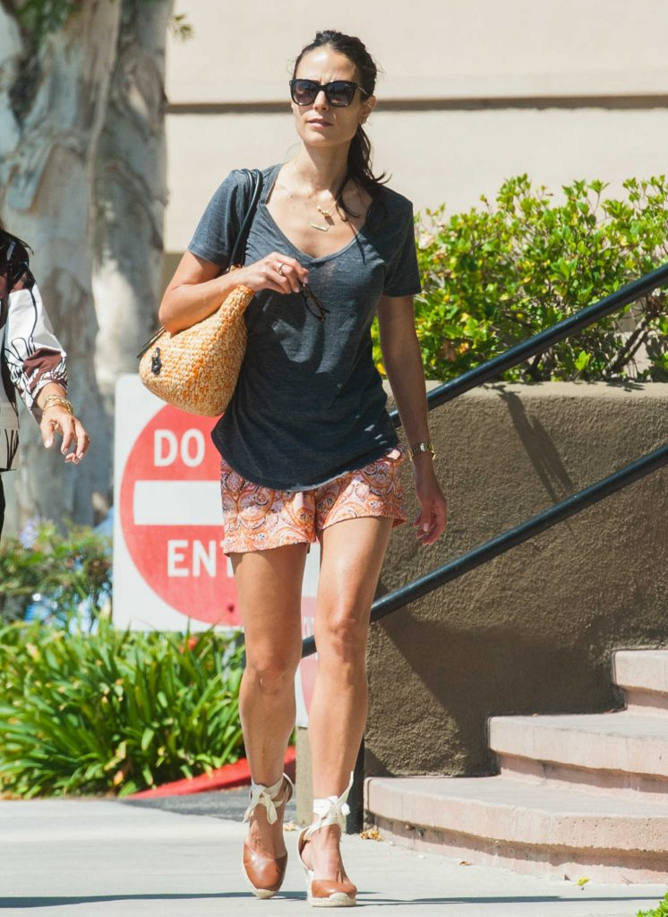 Jordana Brewster Out in Los Angeles-1