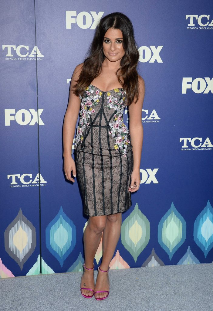 Lea Michele at 2016 FOX Summer TCA Press Tour Party in Los Angeles-1