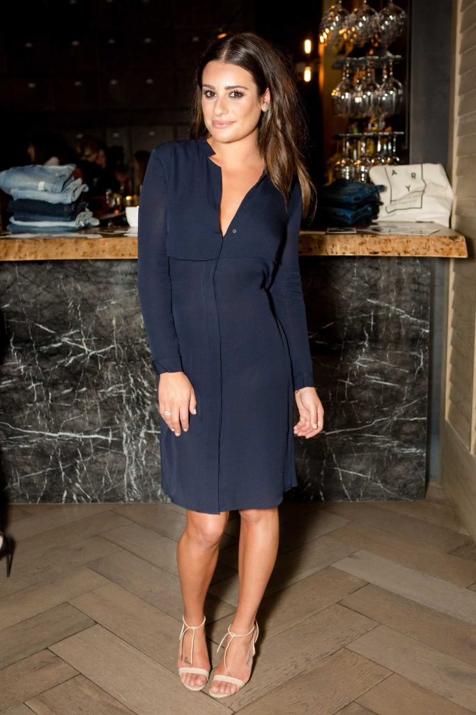 Lea Michele at AYR Fall Collection Party in Los Angeles-1