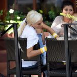 Pia Mia at the Lunch at Il Fornaio in Los Angeles