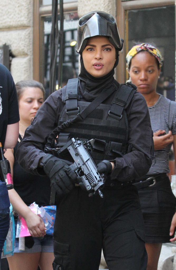 Priyanka Chopra on the Set of Quantico in Midtown Manhattan-3