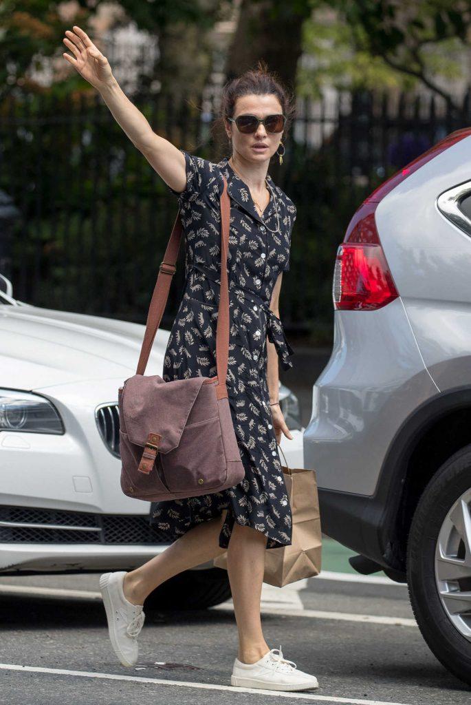 Rachel Weisz Was Seen Out in New York City-1