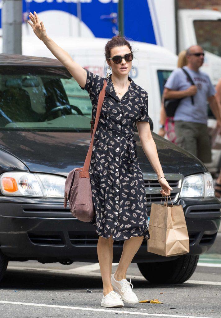 Rachel Weisz Was Seen Out in New York City-3