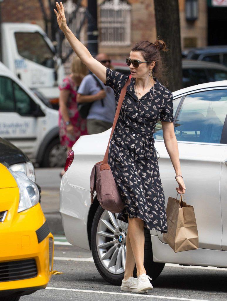 Rachel Weisz Was Seen Out in New York City-4