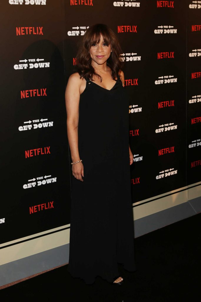 Rosie Perez at the New York Official Premiere of The Get Down-2