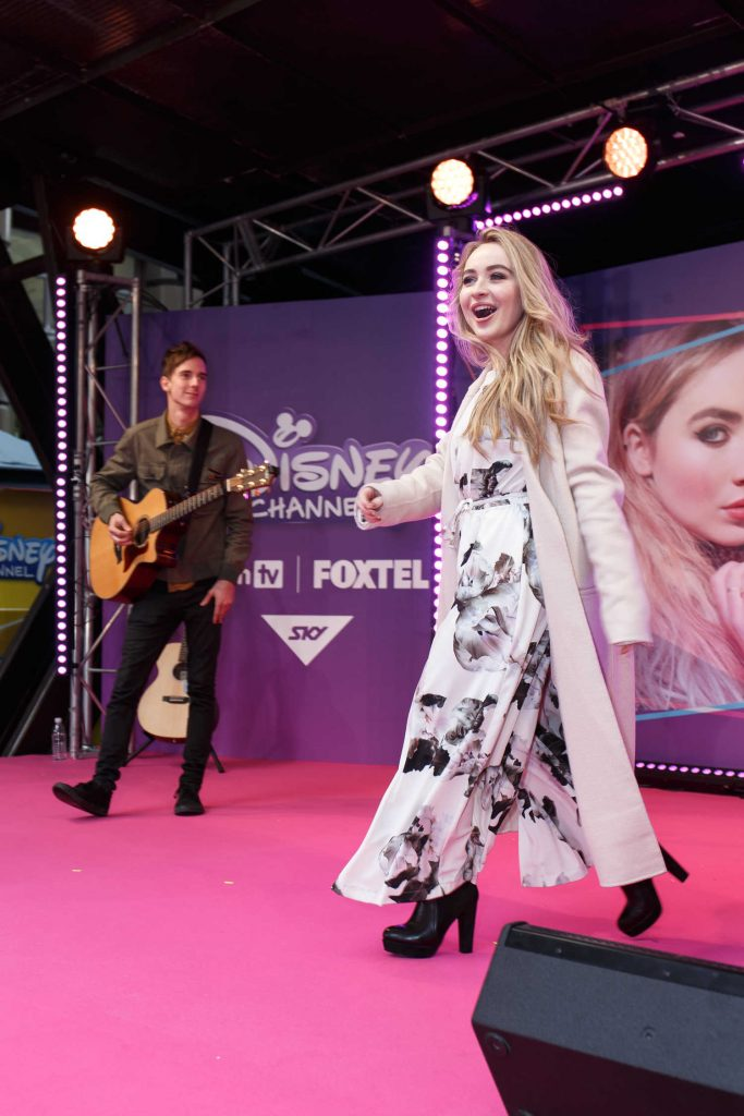 Sabrina Carpenter Performs for Fans in Sydney-1