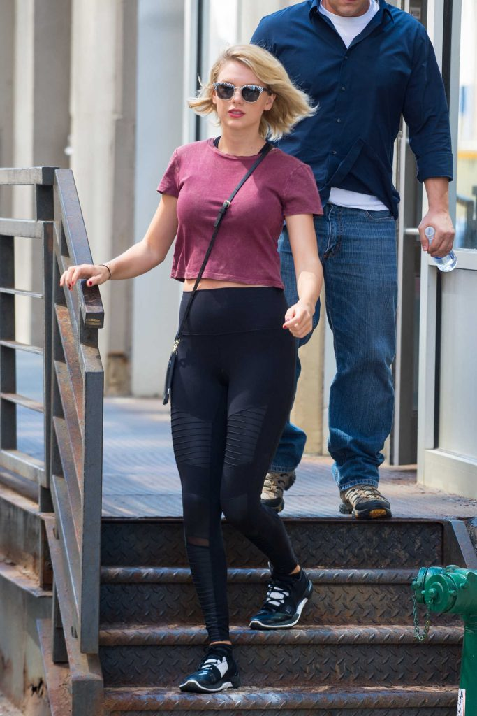 Taylor Swift Leaves the Gym in New York City-3