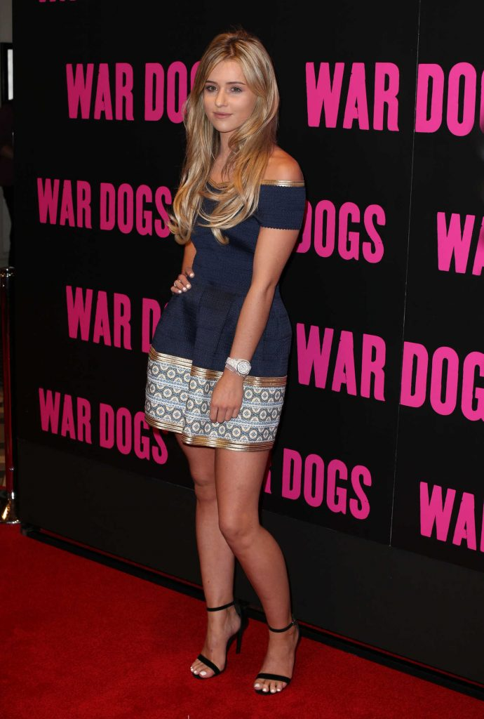 Tina Stinnes at the War Dogs UK Special Screening at Picturehouse Central in London-3