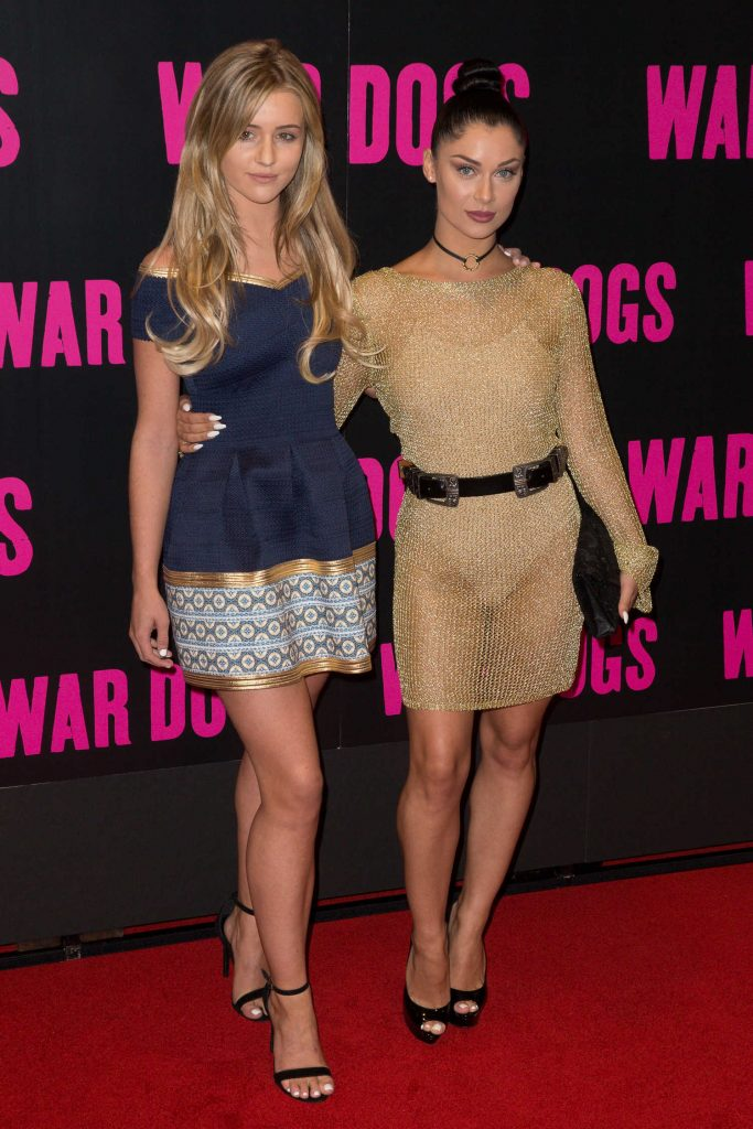 Tina Stinnes at the War Dogs UK Special Screening at Picturehouse Central in London-4