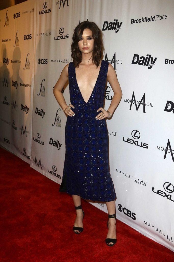 Amanda Steele at the Daily Front Row's 4th Annual Fashion Media Awards in New York-1