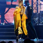 Ariana Grande at the 2016 iHeartRadio Music Festival in Las Vegas