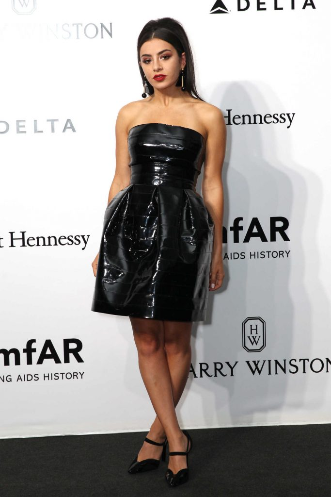 Charli XCX at amfAR Milano in Milan-1