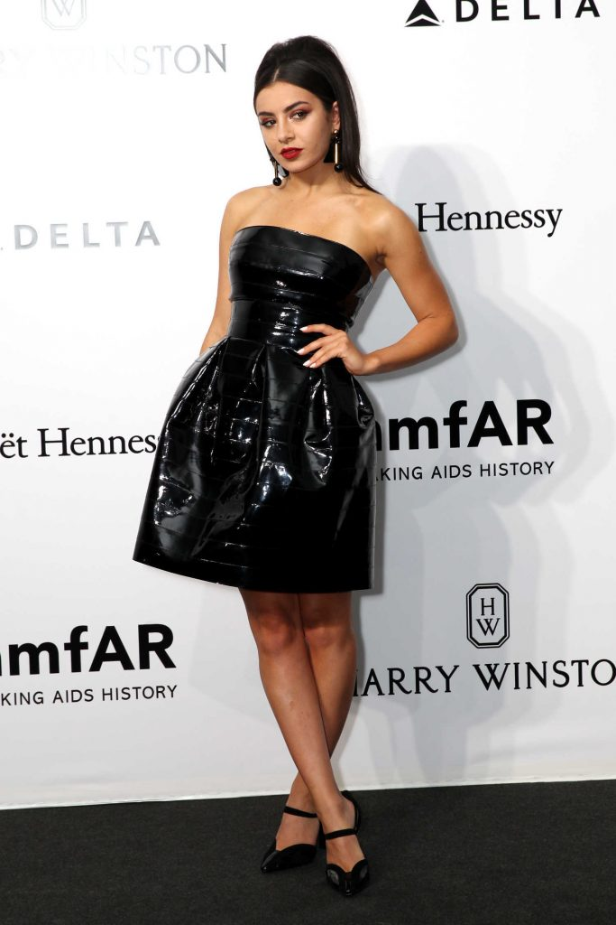 Charli XCX at amfAR Milano in Milan-3