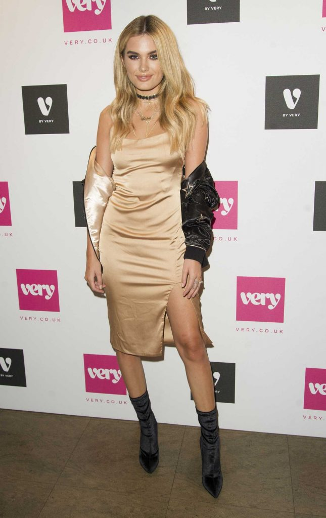 Chloe Lloyd at the V by Very Party During London Fashion Week-3