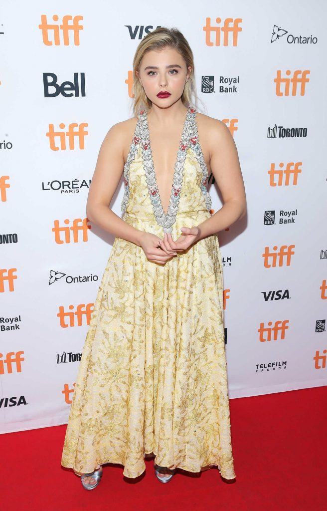 Chloe Moretz at the Brain on Fire Premiere During Toronto International Film Festival-1