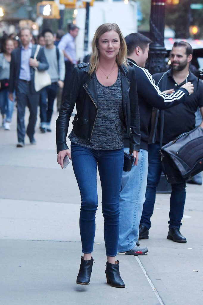 Emily VanCamp Was Seen Out in Tribeca in New York-1