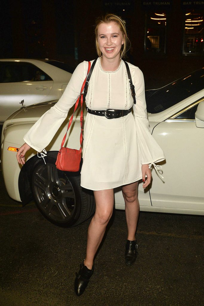 Ireland Baldwin Arrives at the Blonds Fashion Show During New York Fashion Week-1