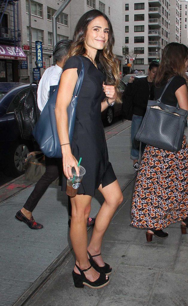 Jordana Brewster Visits Good Day New York-2
