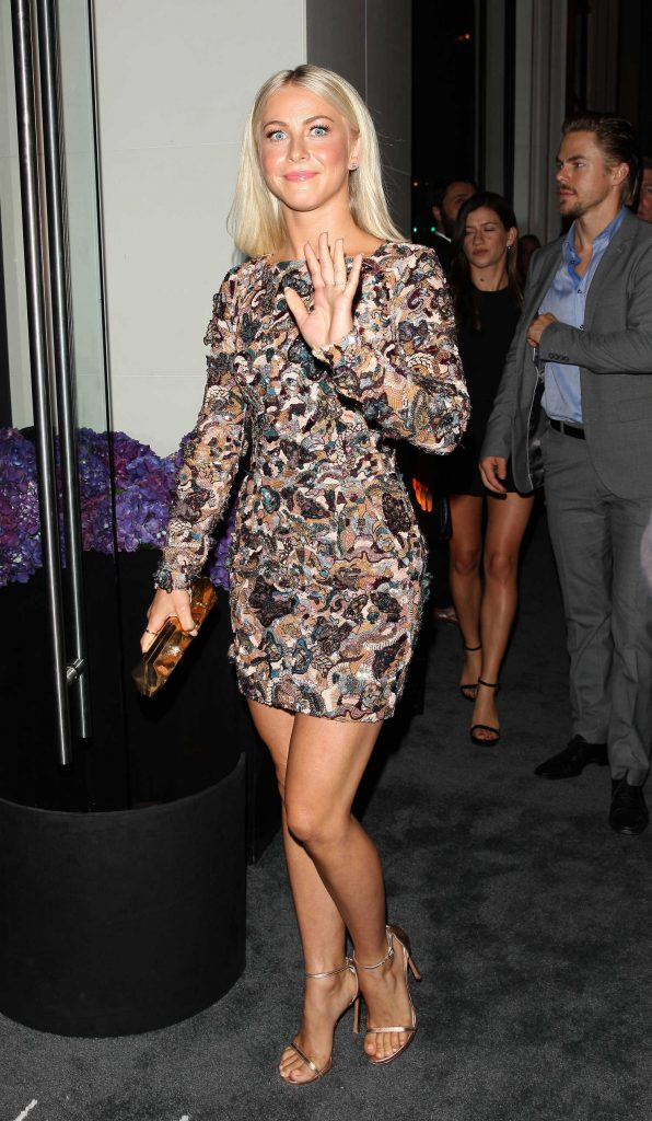 Julianne Hough at the WME Emmy Party at the New Catch LA Restaurant in West Hollywood-1