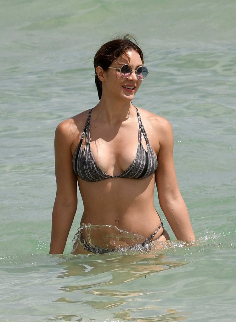 Katharine McPhee in Bikini at the Beach in Miami-2