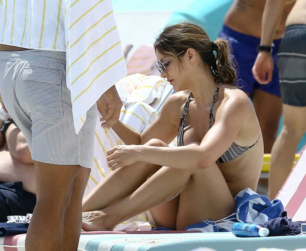 Katharine McPhee in Bikini at the Beach in Miami-3