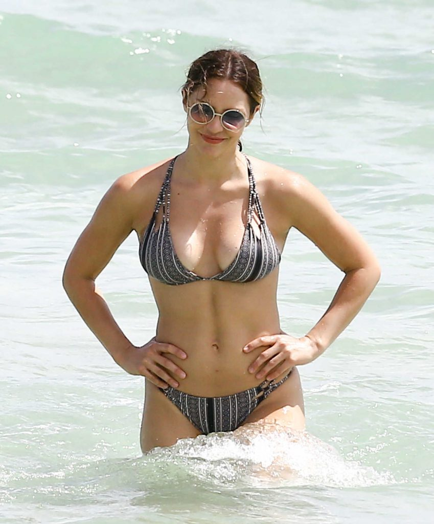Katharine McPhee in Bikini at the Beach in Miami-4
