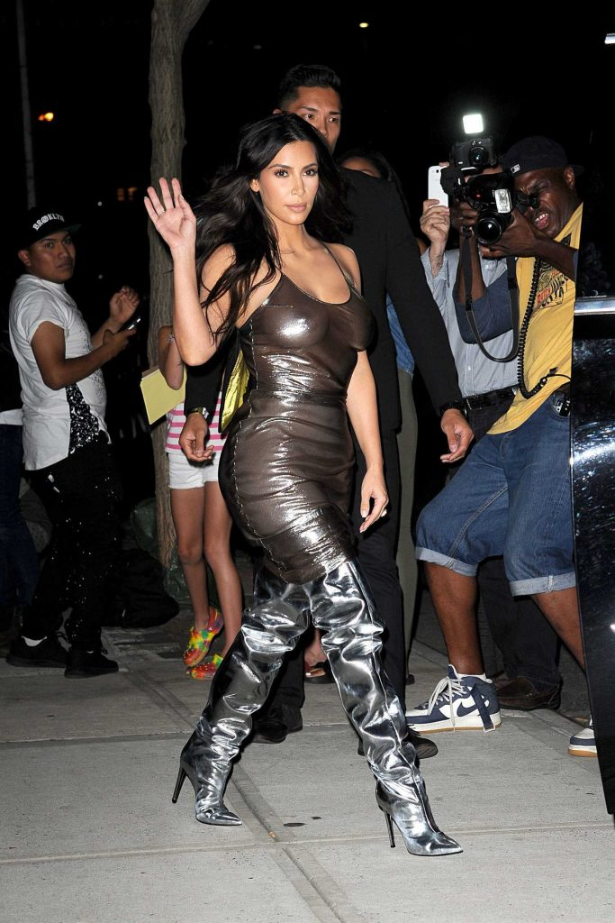 Kim Kardashian Was Seen at Madison Square Garden in New York-2