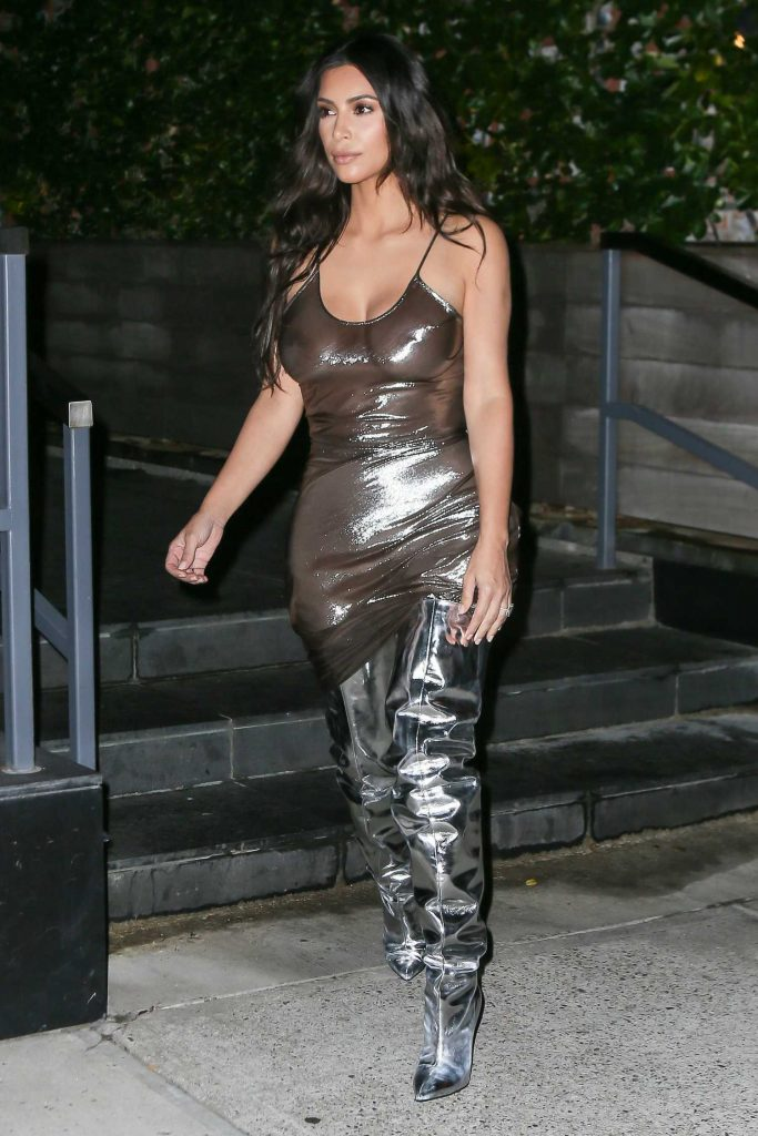 Kim Kardashian Was Seen at Madison Square Garden in New York-4