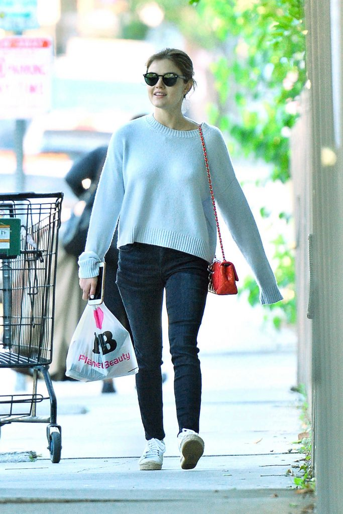 Lucy Hale Was Seen Out in Studio City-1