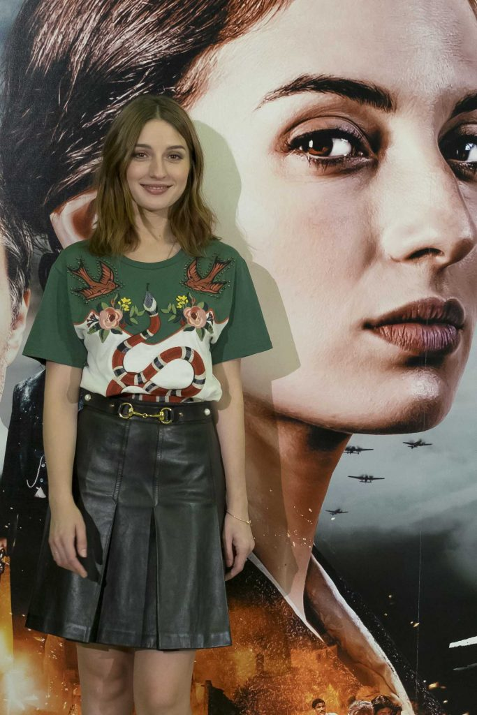 Maria Valverde at the L'amore Che Vorrei Photocall During the 73rd ...