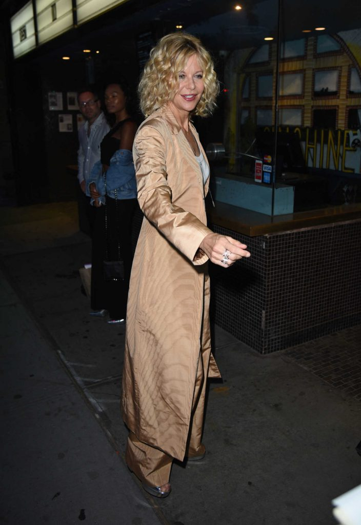 Meg Ryan Arrives to the Landmark Sunshine Theatre in New York-3
