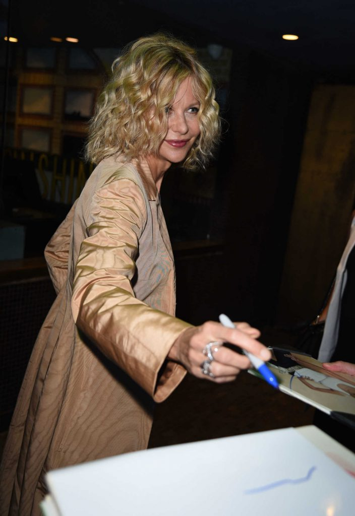 Meg Ryan Arrives to the Landmark Sunshine Theatre in New York-4