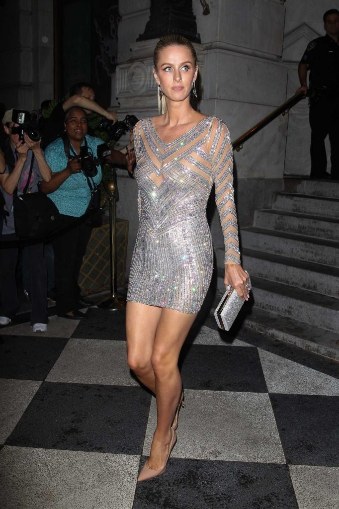 Nicky Hilton at the Harper's Bazaar Celebrates ICONS Party During New York Fashion Week-1