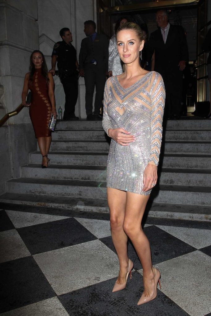 Nicky Hilton at the Harper's Bazaar Celebrates ICONS Party During New York Fashion Week-2